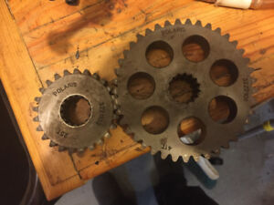 Polaris chain case gears