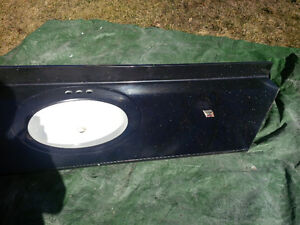 100% Canadian marble vanity with sink - Black with silver fleck Peterborough Peterborough Area image 1