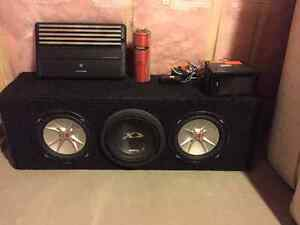 Subs/box/amp/cap/screen