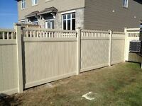 Best PVC Fence with install or DIY project!