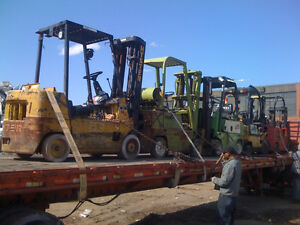 $$$$$$$ Looking for any kind of Scrap Forklift $$$$$