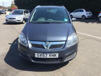 2007 Vauxhalll Zafira 1.9CDTi ( 120ps ) Club diesel manual