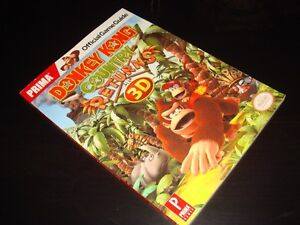 DONKEY KONG COUNTRY RETURNS-OFFICIAL-STRATEGY GUIDE (NEUF/NEW)