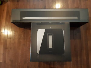 Sonos Playbar and Sub.  Brand New in Box