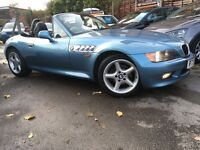 BMW Z3 Roadster (atlanta blue metallic) 1998