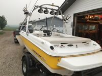 Ready to go! 2008 chaparral ssi with tons of extras!! Must sell!