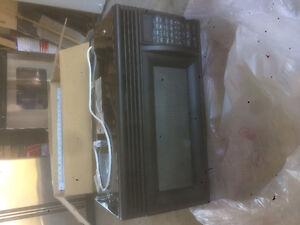 Whirlpool black microwave