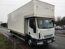 Iveco 75E16 7.5T 24FT Dropwell Luton Removal Van **NEW BODY** Low Mileage