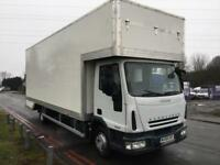 Iveco 75E16 7.5T 24FT Dropwell Luton Removal Van **NEW BODY** Low Mileage