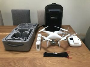 DJI phantom 4 hardly used with extras