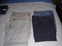 mens pants and shorts