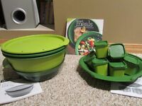 Tupperware Smart Steamer and accessories and recipe book
