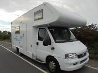 Weinsburg Meteor 640 MST Motorhome for sale, 6 berth, bunk beds, garage