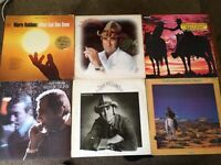 Country and western album record collection