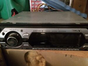 CD player and sub