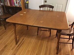 Wooden expandable  Dining Table