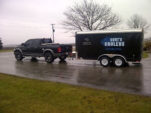Cooler/Electric Refrigerated Trailer Rentals w/ Draft Option London Ontario image 2