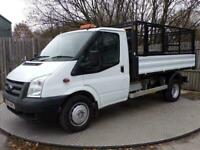 2014 Ford Transit 350 SINGLE CAB TIPPER 1 STOP BODY TACHO Tipper Diesel Manual