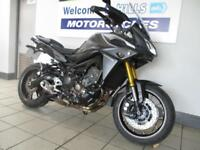 YAMAHA MT09 TRACER ABS LOW MILES CAT N LIGHT MARKS BARGAIN