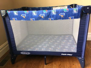 Graco foldable playpen