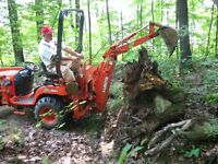 Small Backhoe Services