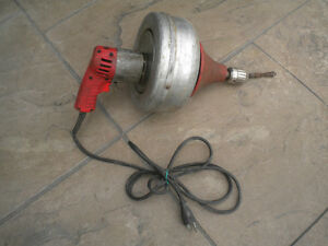 Electrical Tool Drain Cleaner Snake Milwaukee