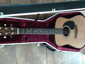 Guitare luthier Bruno Boutin de Magog 2012 pick up K&K $1650