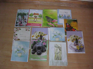 10 assorted get well, notes and thank you cards Kitchener / Waterloo Kitchener Area image 2