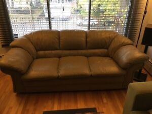 Fine leather sofa