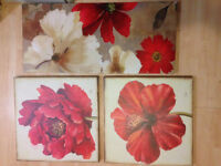 Wall pictures (assorted) 1 sets  Phone 859-4083