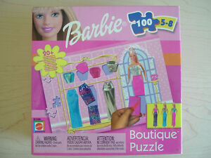 Barbie Boutique 100 piece puzzle (20+ combinations)