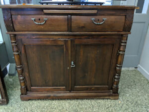 Solid Wood TV Stand/Cupboard