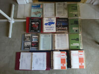 Assortment of GM Repair Manuals