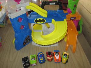 little people Batman auto fisher price