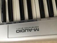 M audio midi keyboard full octave