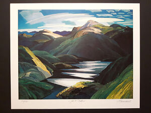 "Franklin Carmichael ""Light & Shadow"" Limited Edition print London Ontario image 5"