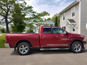 2012 Dodge Ram with Big Horn Package