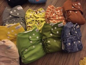 Baby lil helper cloth diapers inserts included inside