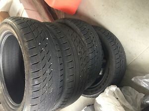 4 Winter tires for sale 205/55/17