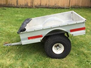 Custom-Built ATV Trailer