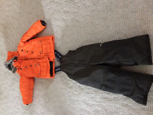 Carters snow suit sz 4 $40 small mark on jacket