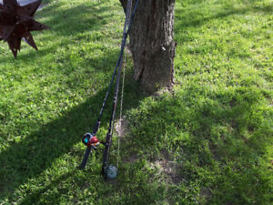 TWO FISHING RODS FOR SALE