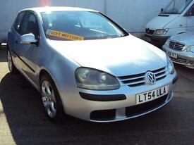 """Volkswagen Golf FSI – 3 Door- 2004 Year """"54"""" Plate- £1,799"""