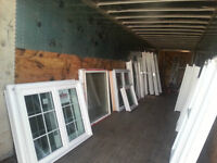 ****CLEARANCE PVC AND THERMAL PANE WINDOWS****