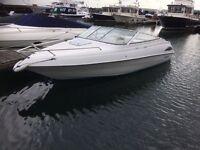Regal sports cuddy boat