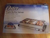 Buffet Server and Warming Plate