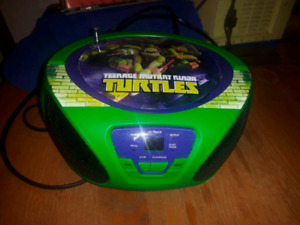 TMNT CD player and radio $20 Pick up at islington and Eglington