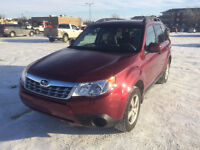 2011 Subaru Forester 2.5X AWD 47000 km ONLY!!!