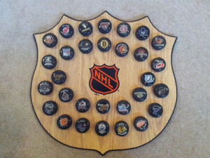 NHL Mini Puck collection