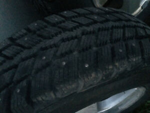 4 winter tires  p215 65r16 on 16 mags call 5147819265